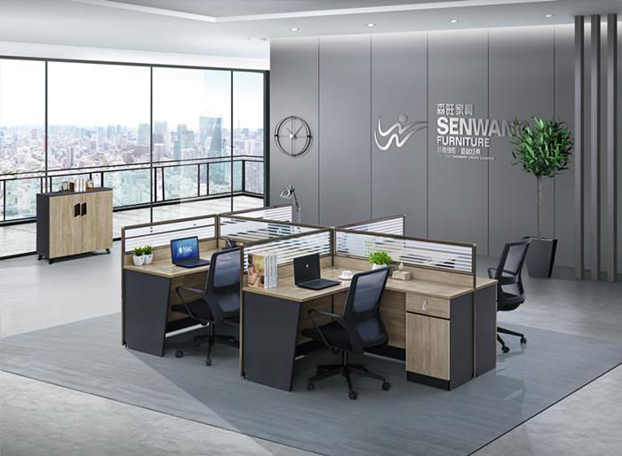 东莞石排森旺办公家具厂家讲述不同款式的职员办公桌都有哪些优势?